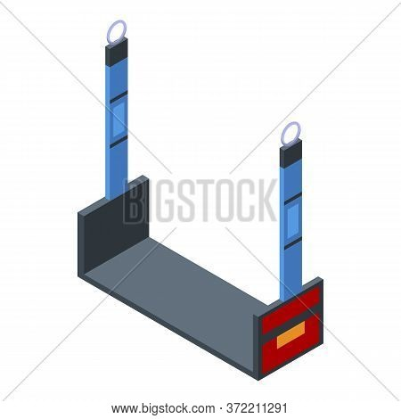 Window Climber Stand Icon. Isometric Of Window Climber Stand Vector Icon For Web Design Isolated On
