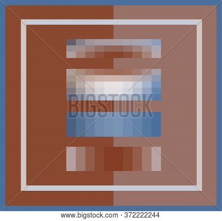 Creative color palette 2020 vector illustration collection.Trendy colors swatches of blue brown pastel warm soft colors. Design of interior, fabric, business ideas schemes.