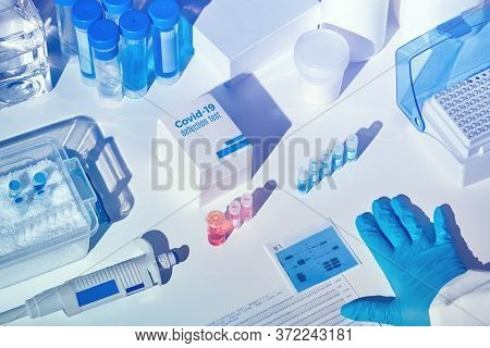 Novel Coronavirus 2019 Ncov Rt-pcr Diagnostics Kit. Reagents, Primers And Control Samples To Detect