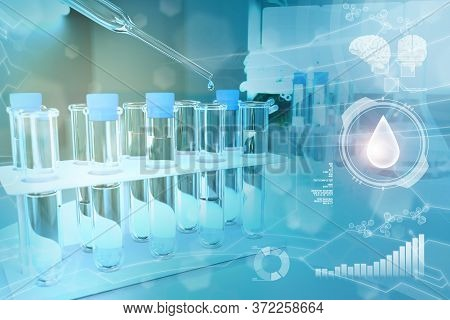 Laboratory Proofs In Modern Chemistry Research Facility - Potable Water Quality Test For Bacteria De