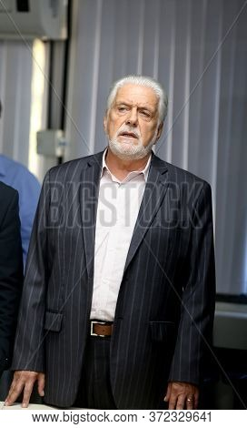 Salvador, Bahia / Brazil - February 26, 2018: Jaques Wagner, Governor Of Bahia Is Seen At The Headqu