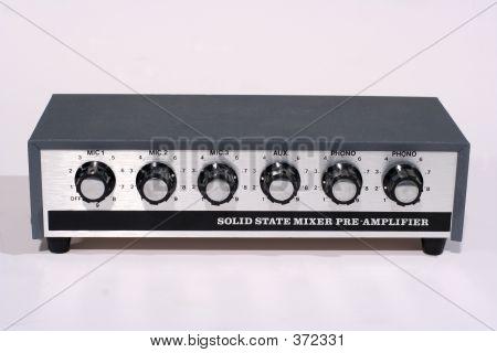 Retro Microphone Mixer