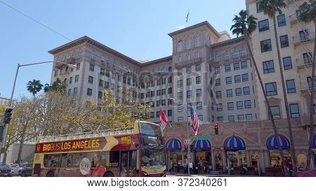 Beverly Wilshire Hotel In Beverly Hills - Los Angeles, United States Of America - April 1, 2019