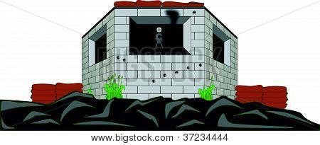 Shore Defenses Pill Box