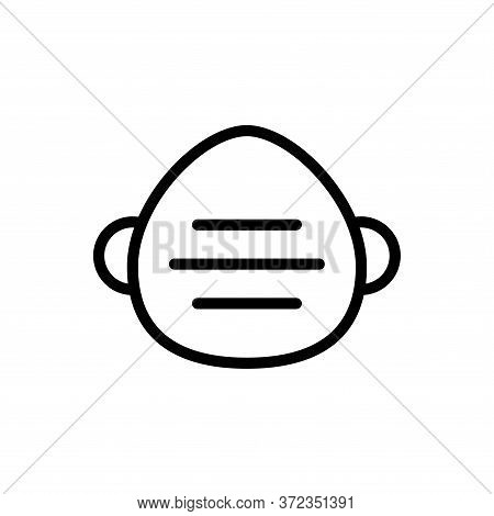 Medical Mask Icon Vector Design Templates