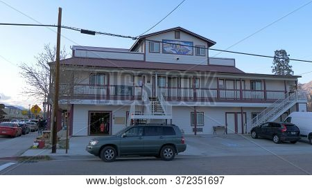 Whitney Portal Hostel In The Historic Village Of Lone Pine - Lone Pine Ca, United States - March 29,