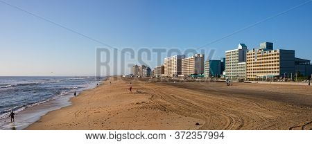 Virginia Beach, City In The State Of Virginia, At The Atlantic Coast, United States Of America, Duri