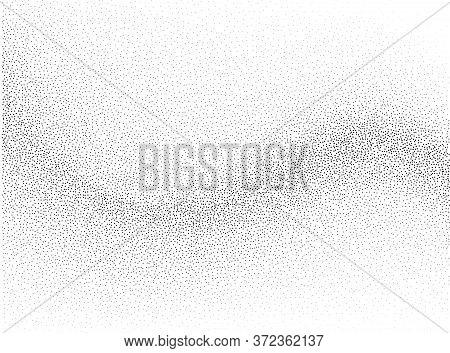 Abstract Vector Background, Monochrome Flow Stipple Effect For Design Brochure, Website, Flyer.
