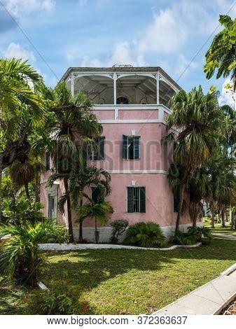 Nassau, Bahamas - May 3, 2019: The Nassau Public Library & Museum In Nassau, New Providence, Bahamas