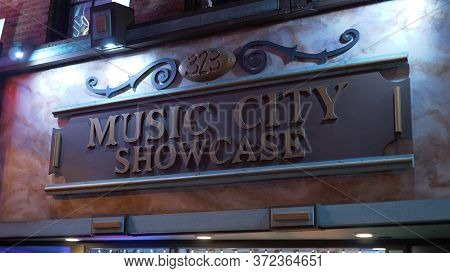 Music City Showcase At Nashville Broadway - Nashville, Usa - June 17, 2019