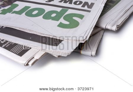 Newspaper - The Sports Pages
