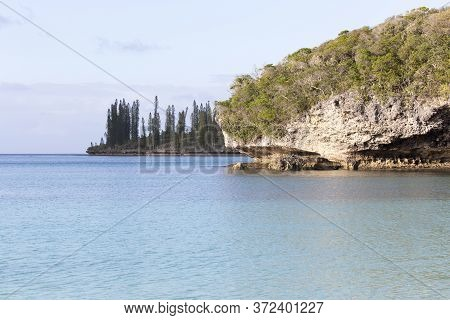 Coast View Of Ile Des Pins In New Caledonia