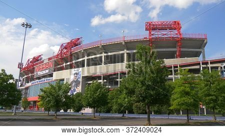 Nissan Stadium In Nashville - Nashville, Usa - June 17, 2019
