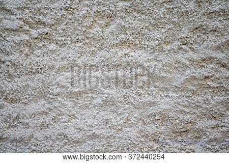 Gray white color, plaster texture background, building facade wall grunge material