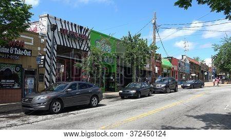 Shops At Little 5 Points Quarter In Atlanta - Atlanta, Georgia - April 22, 2016