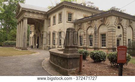 The Swan House As A Part Of Atlanta History Center - Atlanta, Georgia - April 21, 2016