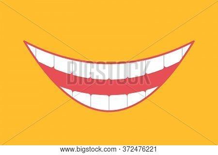 Broad Smile Print Design For Kids Medical, Face Mask.