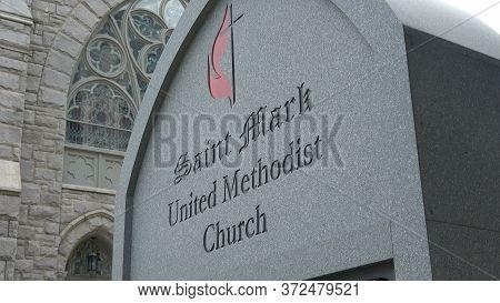Saint Mark United Methosist Church In Atlanta - Atlanta, Georgia - April 22, 2016