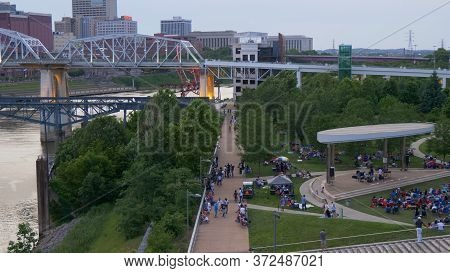Beautiful Cumberland Park In Nashville - Nashville, Usa - June 17, 2019