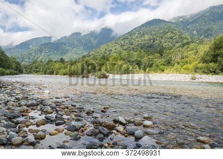 Kamikochi , A Popular Resort In The Northern Japan Alps Of Nagano Prefecture