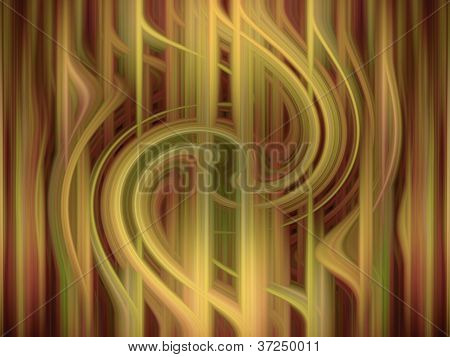 Digital Abstract Curtain Background