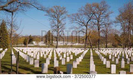 The Nations Most Sacred Shrine - The Arlington Cemetery In Washington - Washington, United States -