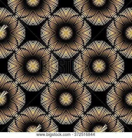Tapestry Colorful Floral Seamless Pattern. Embroidery Ornamental Vector Background. Ethnic Grunge Ab