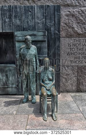 The Franklin Delano Roosevelt Memorial Is A Presidential Memorial In Washington D.c. Dedicated To Th