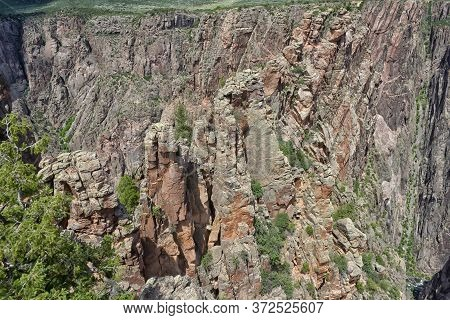 Painted Wall, Black Canyon Of The Gunnison National Park