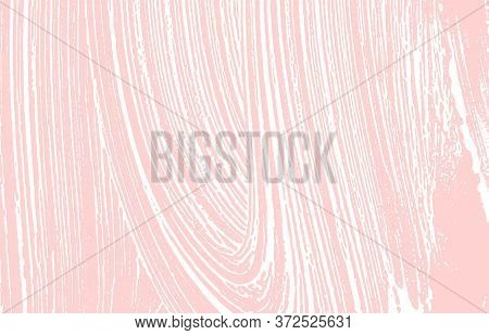 Grunge Texture. Distress Pink Rough Trace. Glamorous Background. Noise Dirty Grunge Texture. Ideal A