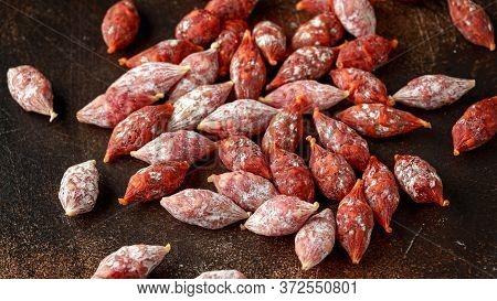 Cocktail Chorizo Mini Pork Fermented Dry Cured Salami Sausages