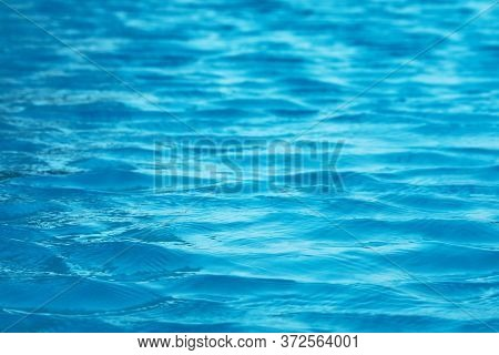 Water Of Swimming Pool Is So Clear, Can See Floor In The Water