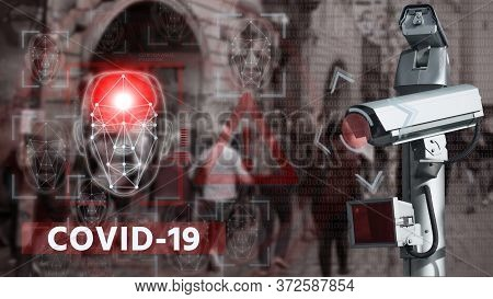 Camera With Face Recognition And Thermal Imager
