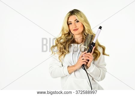 Hairdresser Tips. Girl Adorable Blonde. Buy Tools. Online Shop. Useful Curling Iron Tricks Everyone