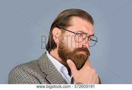 Man Glasses. Bearded Man In Glasses. Handsome Man In Glasses. Fashion. Male Fashion. Handsome Man In