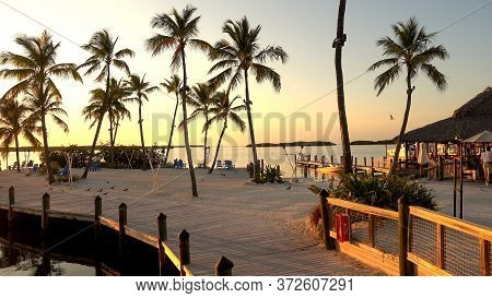 Beautiful Bay On Islamorada Florida - Islamorada, Florida - April 12, 2016