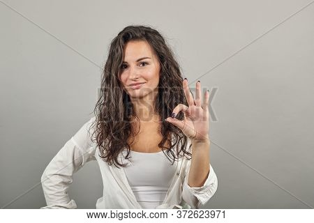 View Of Hand Fingers Showing Ok Sign, Gesturing Making Okay, Human Emotions, Facial Expressions, Fee