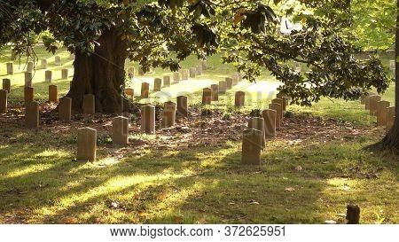 Military Cemetery In Atlanta - Atlanta, Georgia - April 20, 2016