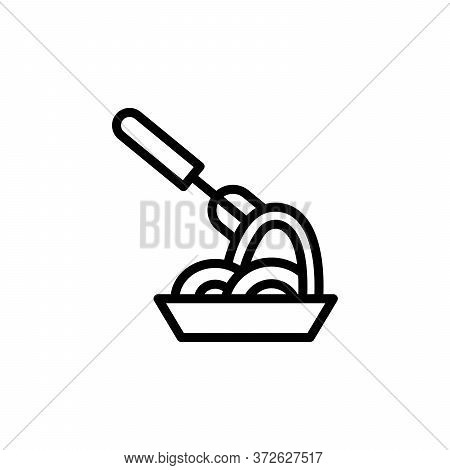 Spaghetti Concept Line Icon. Simple Element Illustration. Spaghetti Concept Outline Symbol Design Fr