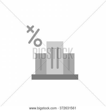 Office Building Colored Icon. Simple Colored Element Illustration. Office Building Concept Symbol De