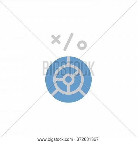 Labyrinth Colored Icon. Simple Colored Element Illustration. Labyrinth Concept Symbol Design From Bu