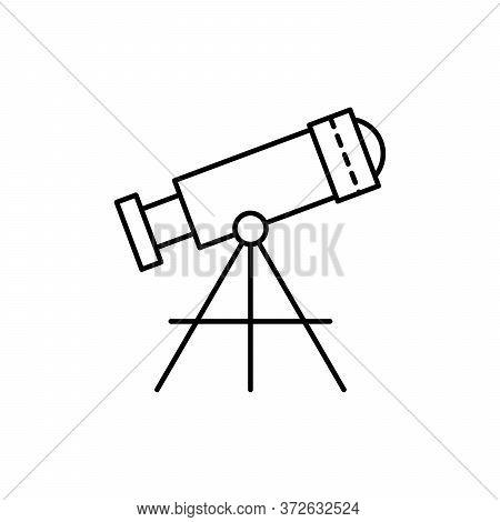Telescope, Technology Concept Line Icon. Simple Element Illustration. Telescope, Technology Concept