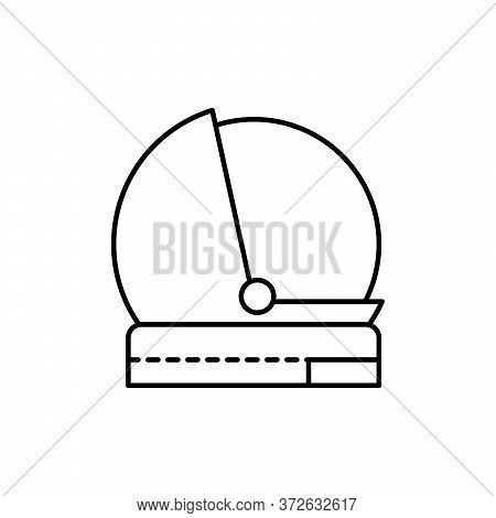 Helmet, Cosmonaut Concept Line Icon. Simple Element Illustration. Helmet, Cosmonaut Concept Outline