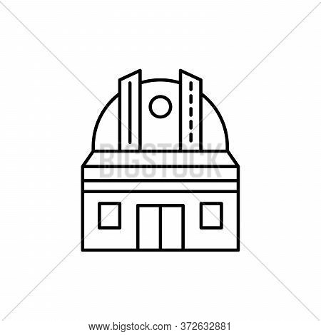 Observatory, Astronomy Concept Line Icon. Simple Element Illustration. Observatory, Astronomy Concep