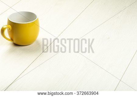 Laminate Background. Wooden Laminate And Parquet Boards For The Floor In Interior Design With Yellow