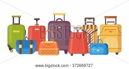 Plastic, Metal Suitcases, Backpacks, Bags For Luggage. Travel Suitcases With Wheels, Travel Bag, Cas