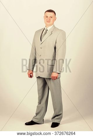 Businessman. Office Life. Multimillionaire. Formal Fashion And Dress Code. Formal Party Or Meeting.