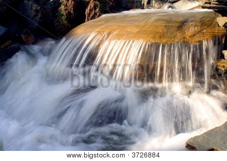 Mountain River Waterfall