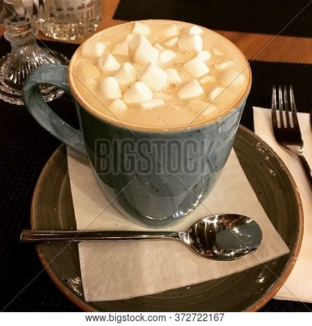 Cup Of Coffee Americano Coffee With Sweets Coffee Cup On Table Black Coffee Cup Fresh Coffee Latte C