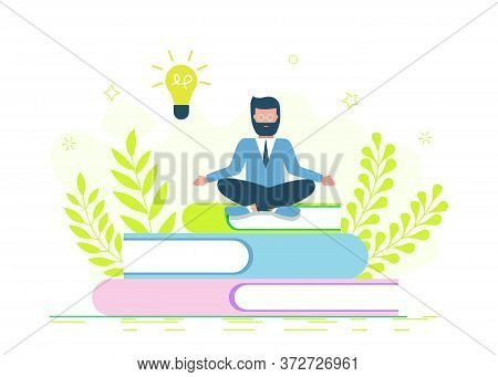 Education, online training courses, distance education vector illustration. Internet studying, online book, tutorials, e-learning, online education design for mobile and web graphics. Business concept. Business people. Business background. Infographic bus